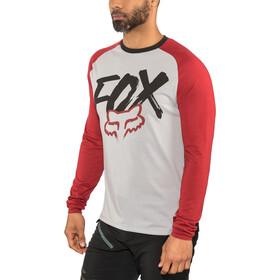 Fox Ranger Dri-Release Fox LS Jersey Herr steel gray